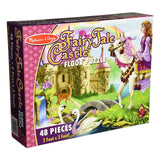 Puzzles - Melissa And Doug Fairy Tale Castle 48 Piece Floor Puzzle