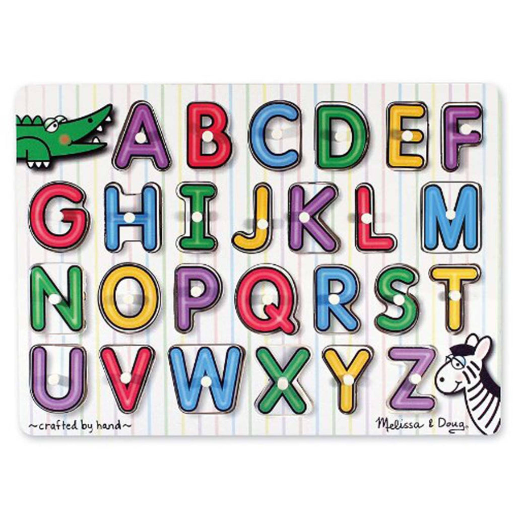 Melissa And Doug First Start Alphabet Peg Puzzle