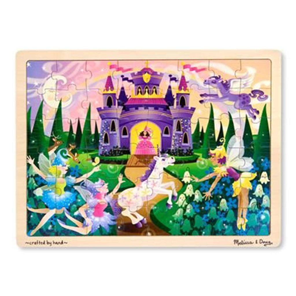 Melissa And Doug Fresh Start Fairy Fantasy 48 Piece Wooden Jigsaw Puzzle