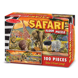 Puzzles - Melissa And Doug Safari 100 Piece Floor Puzzle