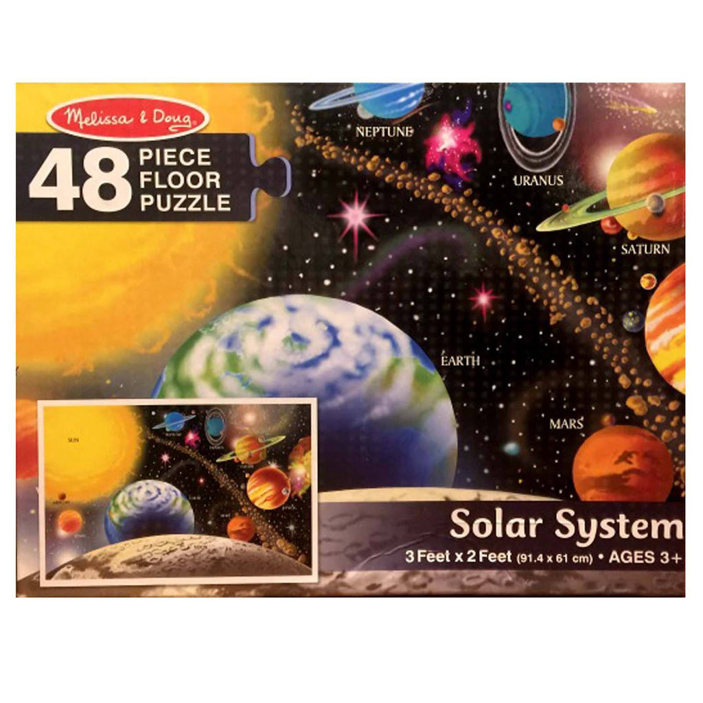 Melissa And Doug Solar System 48 Piece Floor Puzzle