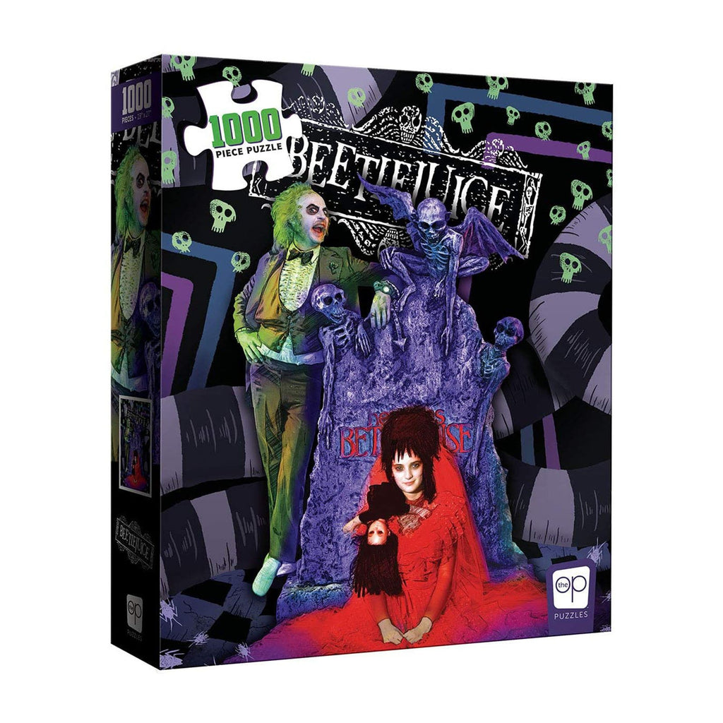 USAopoly Beetlejuice Graveyard 1000 Piece Puzzle