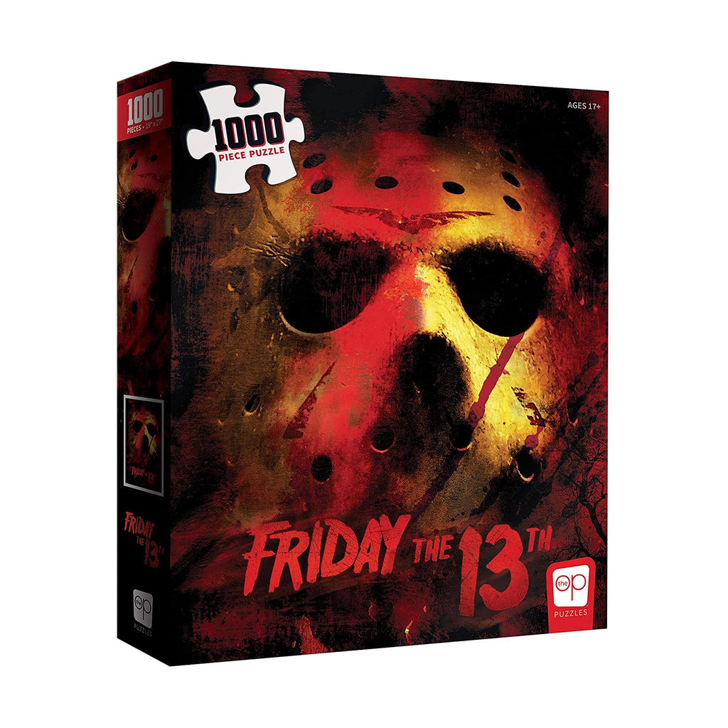 USAopoly Friday The 13th Mask 1000 Piece Puzzle