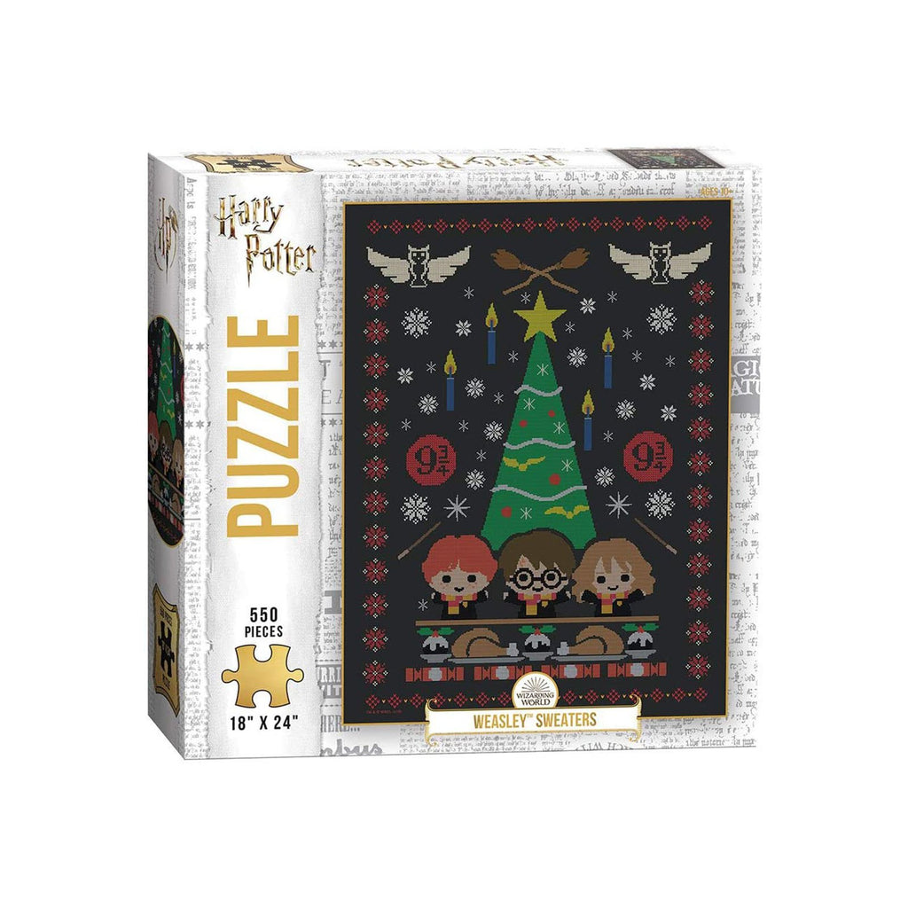 USAopoly Harry Potter Weasley Sweaters 550 Piece Puzzle