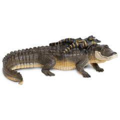 Alligator With Babies Incredible Creatures Figure Safari Ltd - Radar Toys