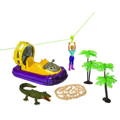 Reptile Figures - E-Team Swampland Expedition Figures Playset