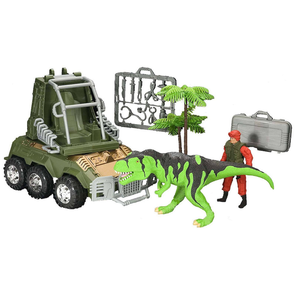 E-Team T-Rex Security Figures Playset
