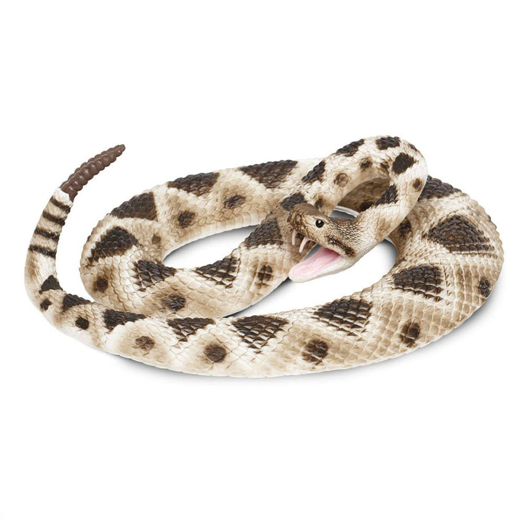 Eastern Diamondback Rattlesnake Incredible Creatures Figure Safari Ltd - Radar Toys