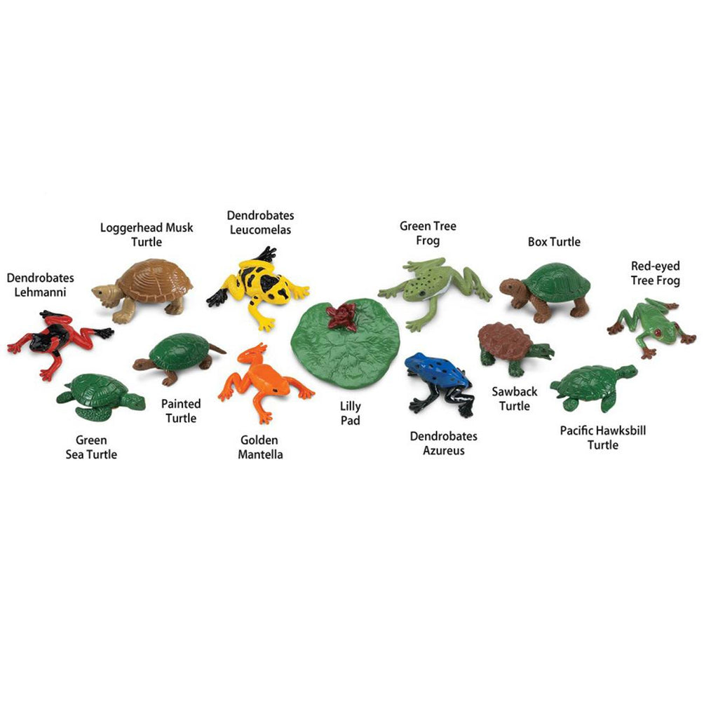 Frogs and Turtles Toob Mini Figures Safari Ltd