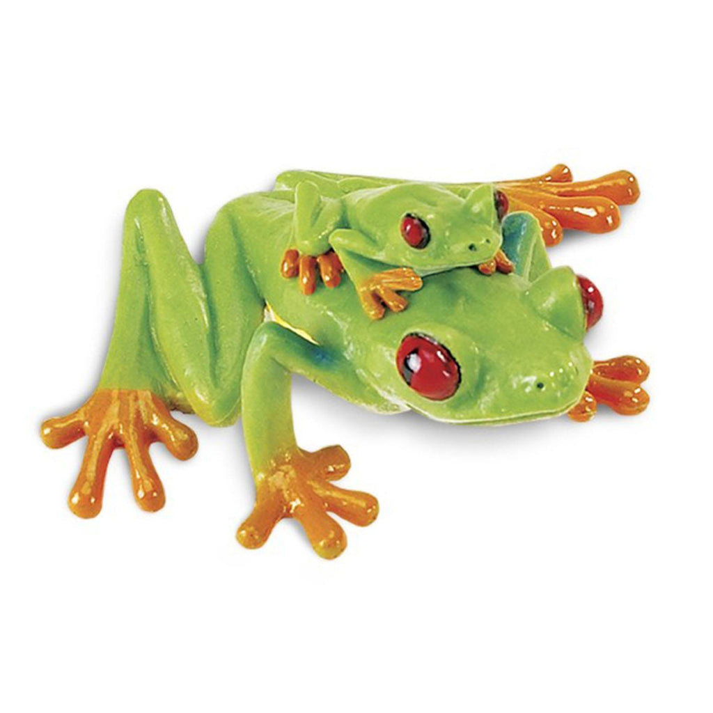 Red-Eyed Tree Frog Incredible Creatures Figure Safari Ltd