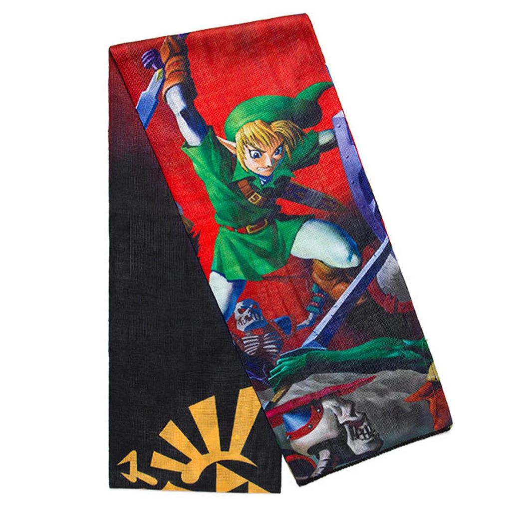 Zelda Sublimated Poly Knit Scarf