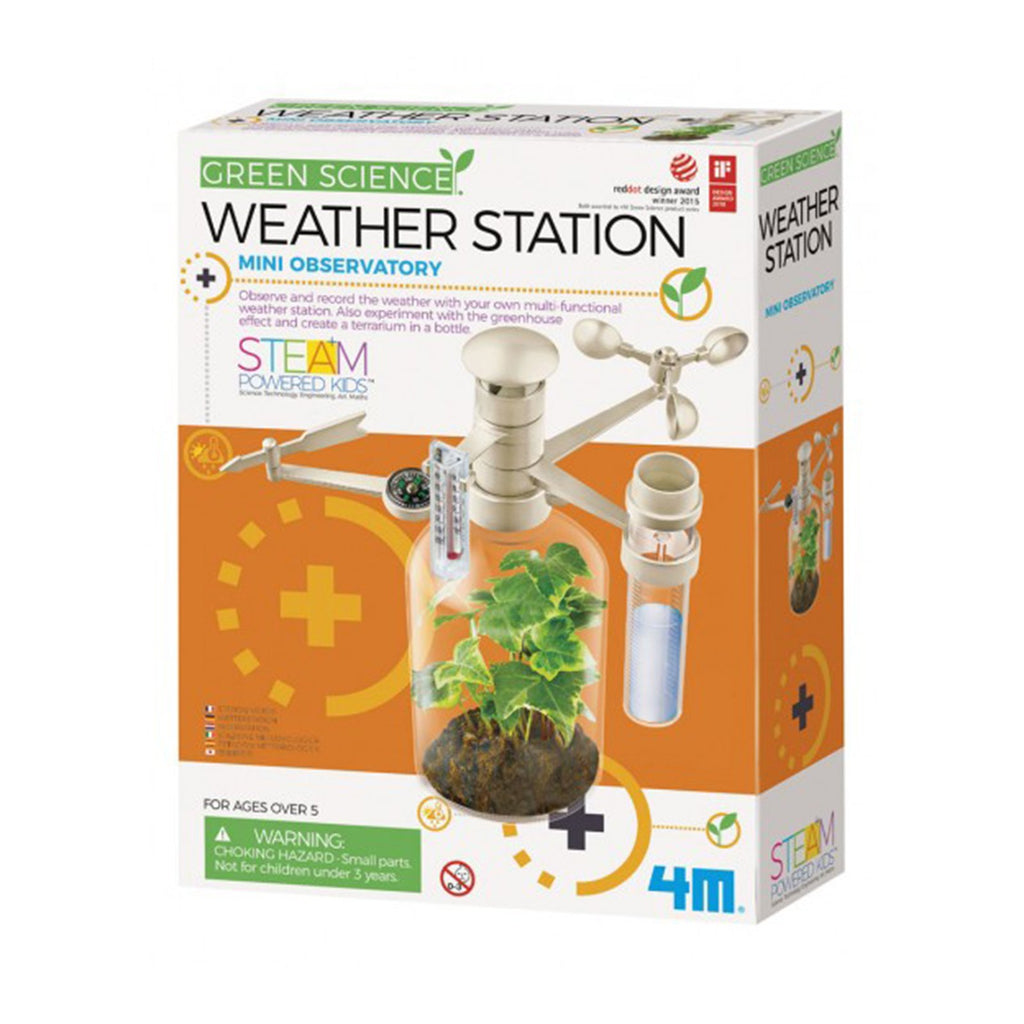 Science Kit - Toysmith Green Science Weather Station Mini Observatory Set