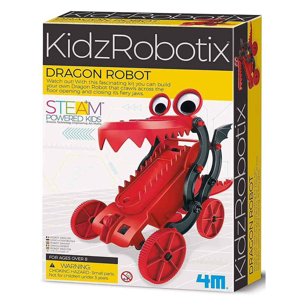 Science Kit - Toysmith Kidzrobotix Dragon Robot Buildable Set