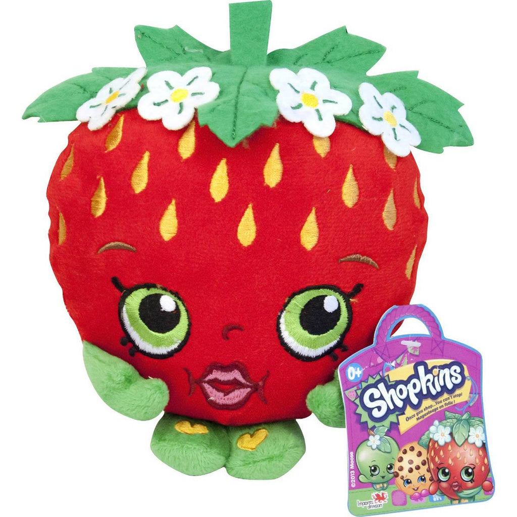 Shopkins Strawberry Plush Figure