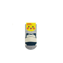 Pokemon Snorlax Single Pair Youth Ankle Socks