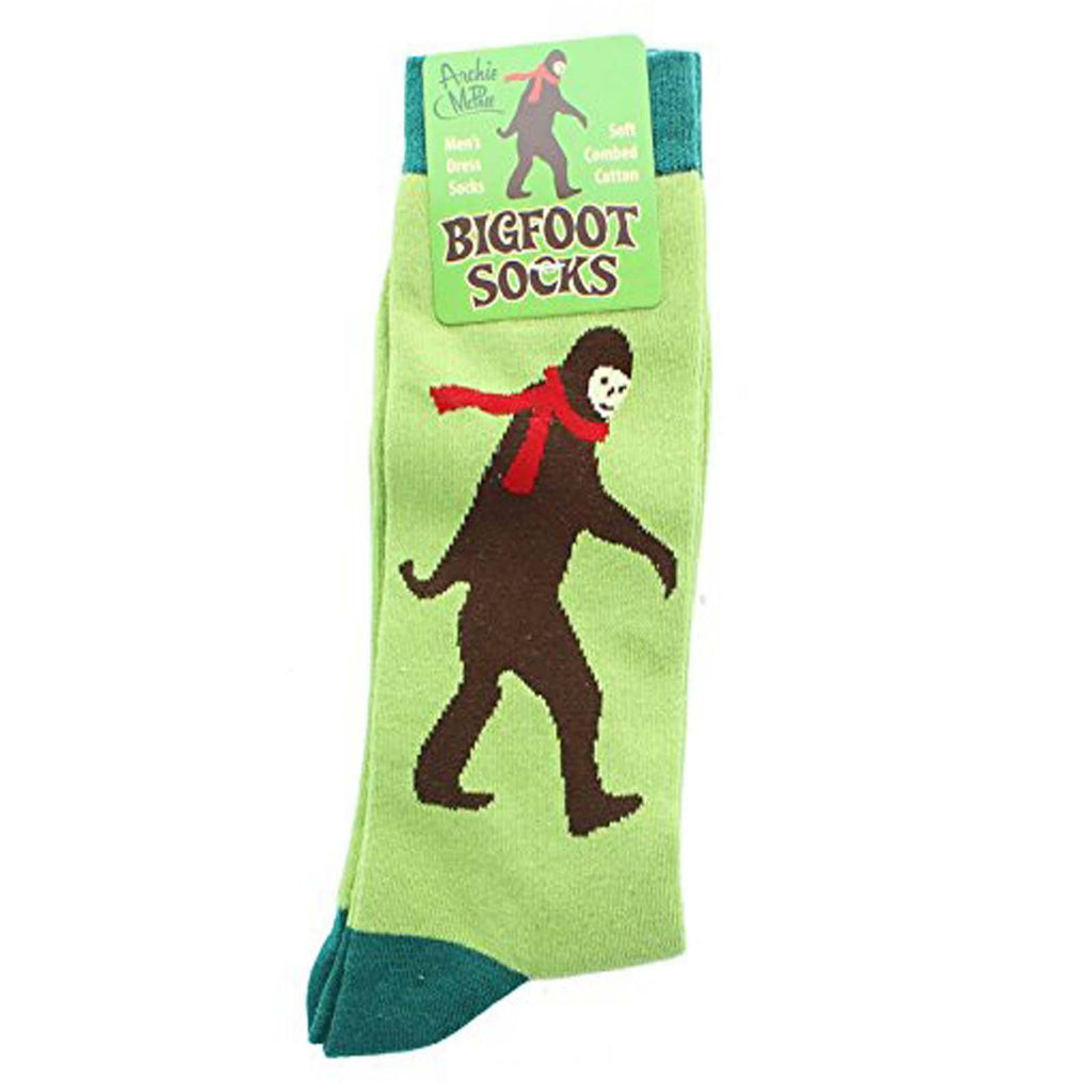 Big Foot Sasquatch 1 Pair Of Dress Socks