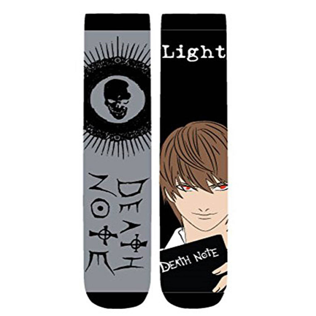 Death Note Light Yagami 2 Pairs Of Crew Long Socks