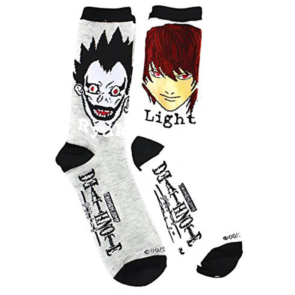 Death Note Ryuk And Light 2 Pairs Of Socks