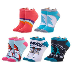 Socks - Disney Gravity Falls Character 5 Pairs Of Ankle Socks