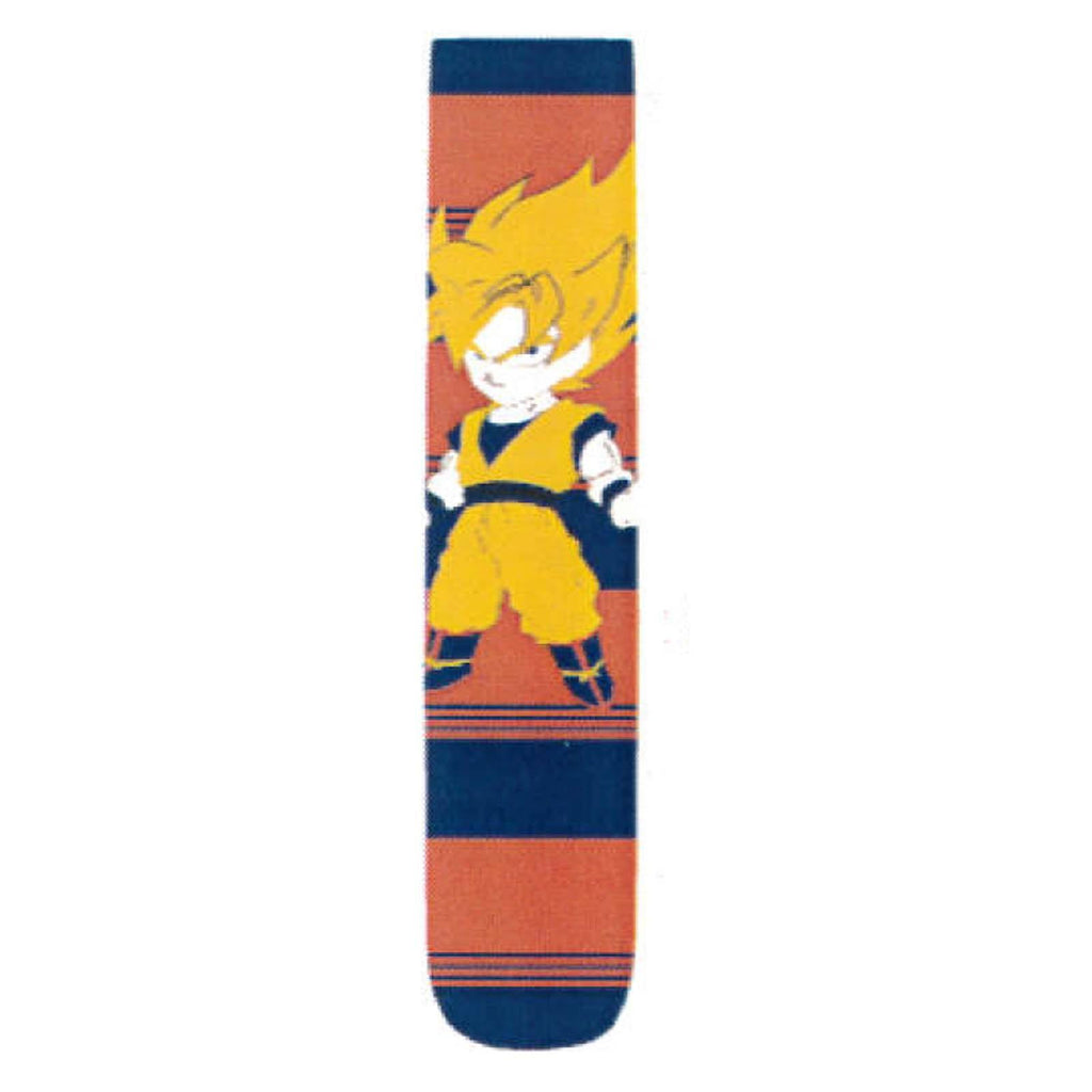 Dragon Ball Z Chibi Super Saiyan Goku 1 Pair Of Crew Socks