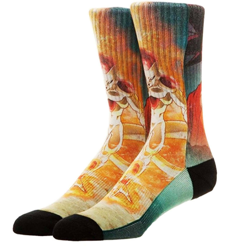 Dragon Ball Z Resurrection F Poster 1 Pair Of Crew Socks