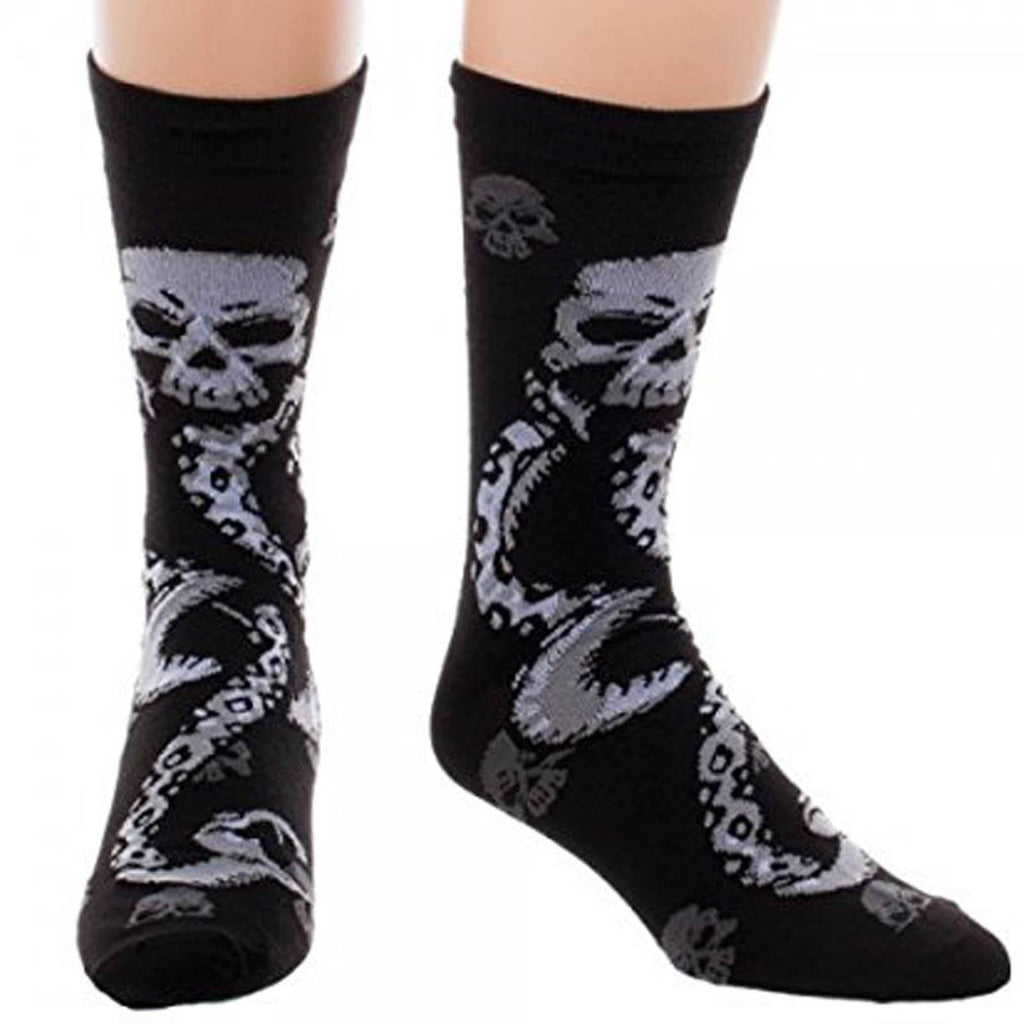 Harry Potter Deatheater Crew One Pair Of Socks