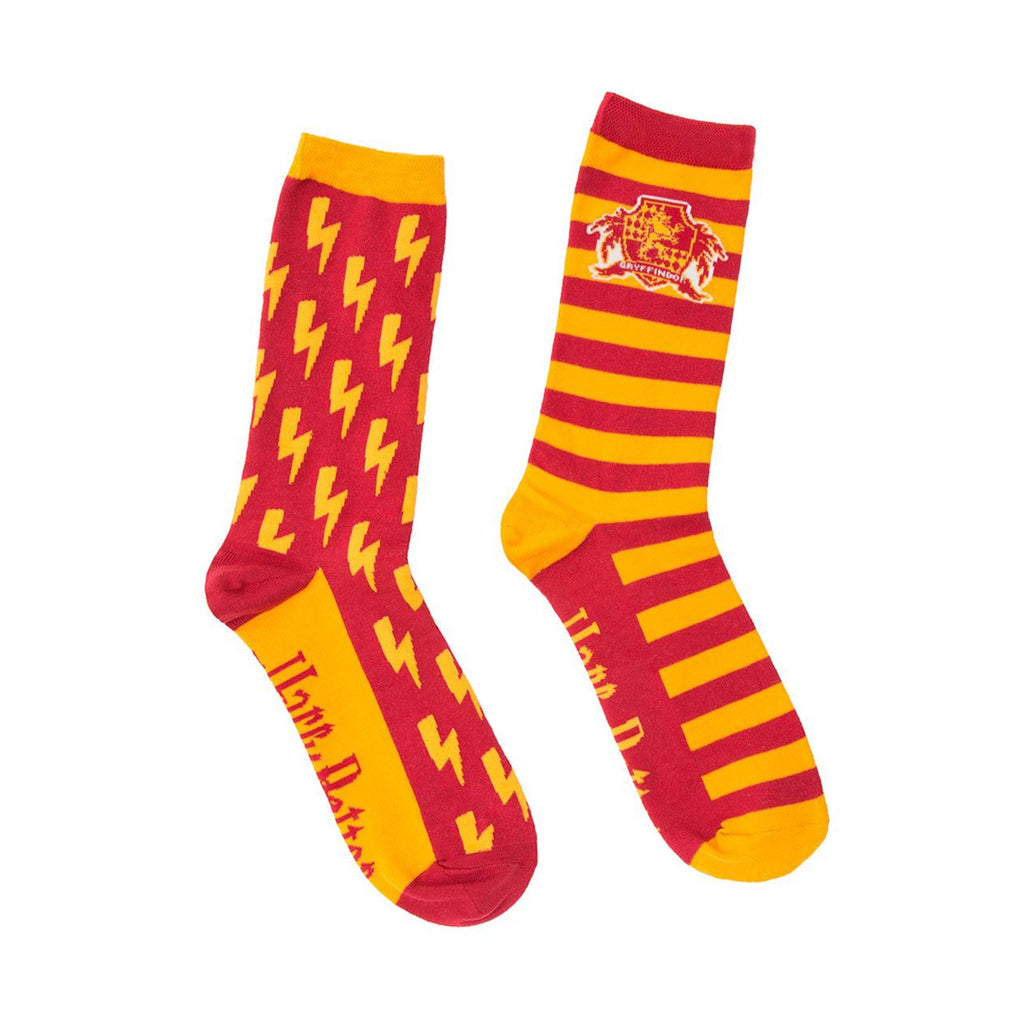 Harry Potter Gryffindor Single Pair Large Crew Socks