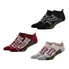 Socks - Harry Potter Quidditch 3 Pairs Of Ankle Socks