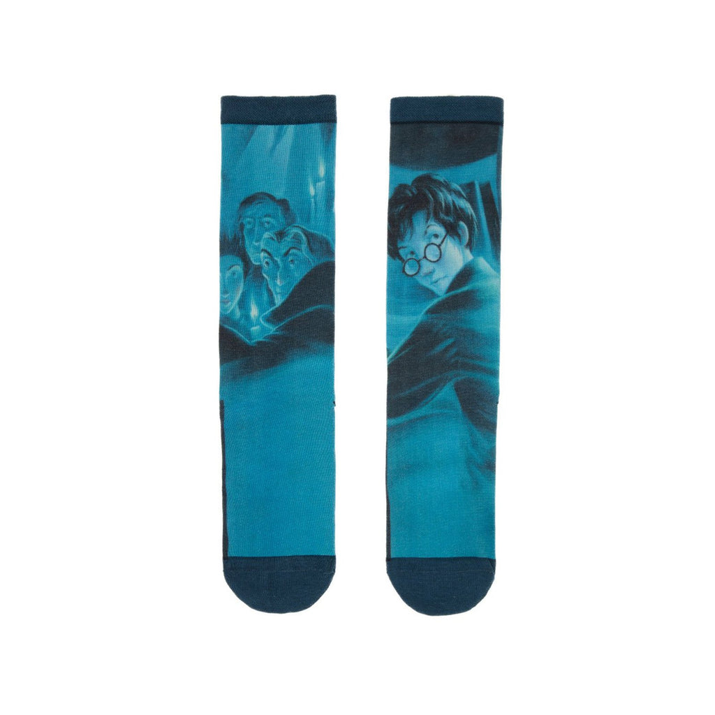 Harry Potter The Order Of The Phoenix Single Pair Large Crew Socks