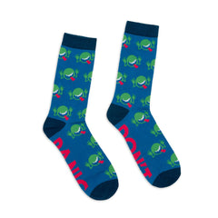 Socks - Hitchhiker's Guide To The Galaxy Single Pair Large Crew Socks