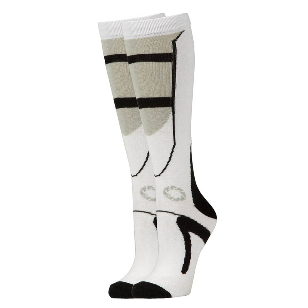 Portal 2 Black And White Long Socks