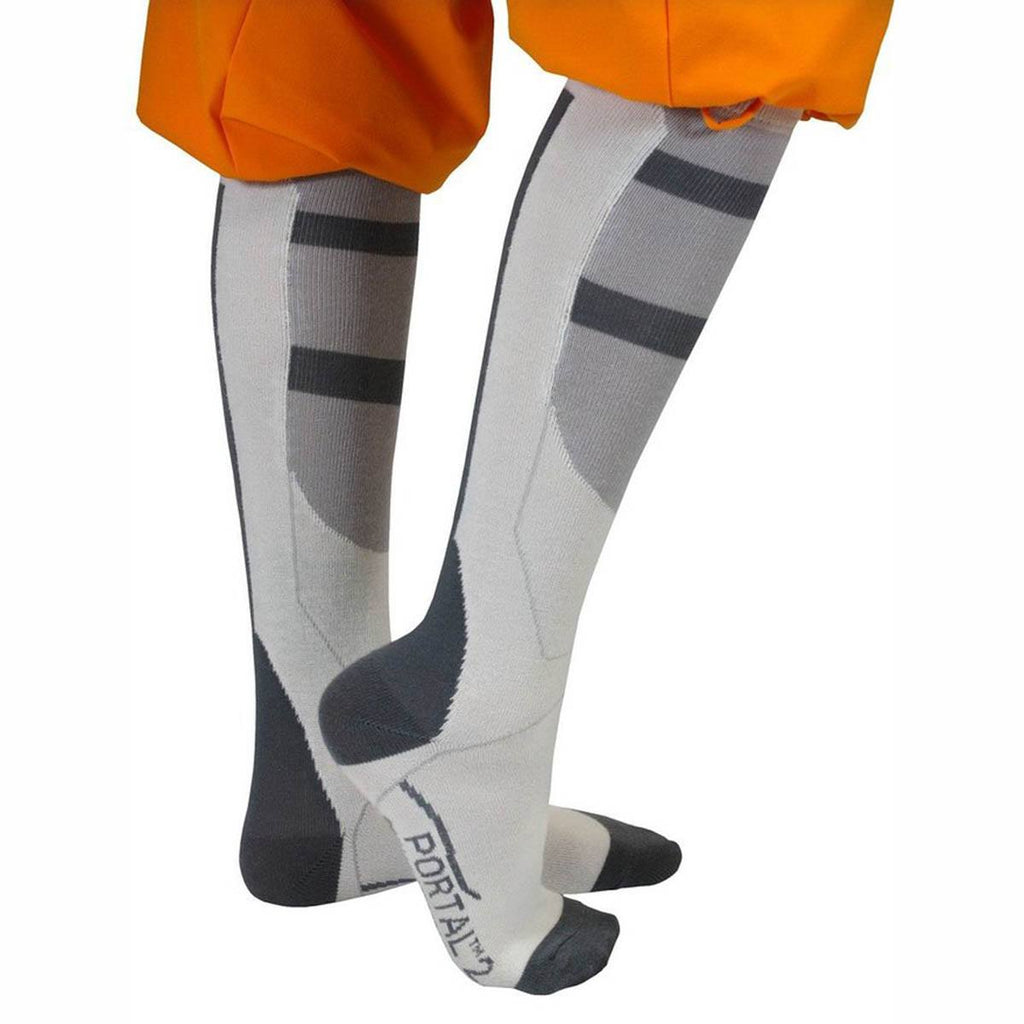 Portal 2 Chell's Aperture Science Long Socks