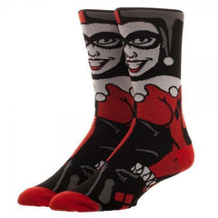Socks - The DC Comics Character Collection Harley Quinn 1 Pair Of Crew Socks