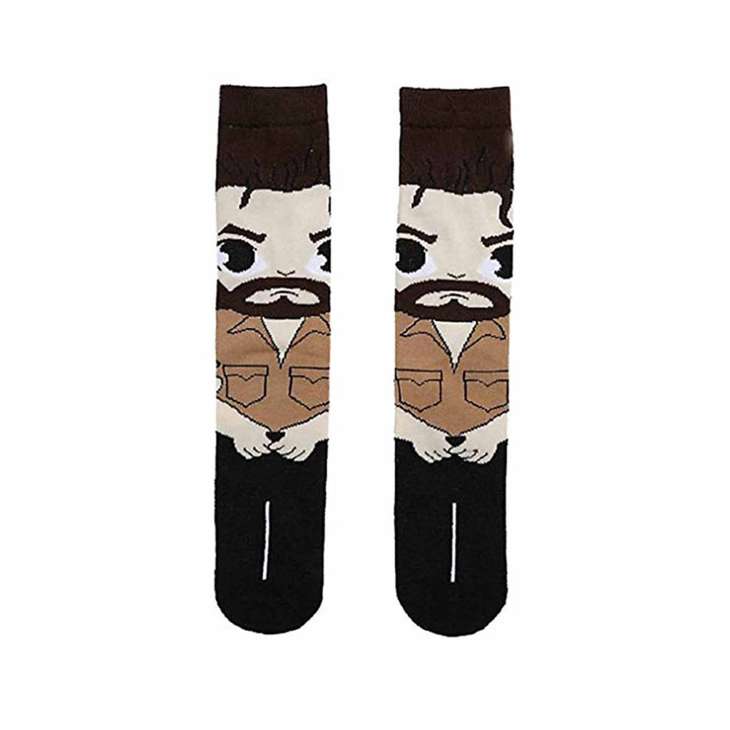 Walking Dead Rick Grimes Full Body Chibi 1 Pair Of Crew Socks