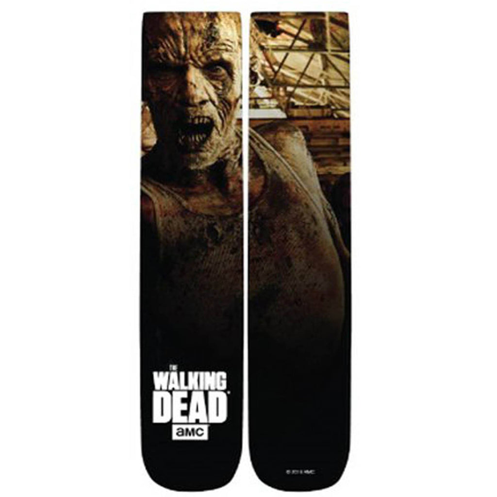 Walking Dead Walker 360 Photoreal 1 Pair Of Socks