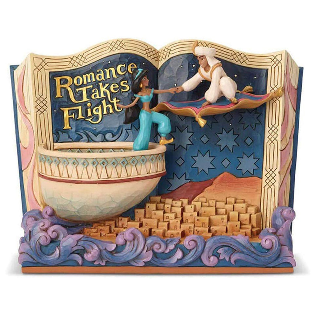 Enesco Disney Traditions Aladdin Romance Takes Flight Statue