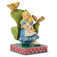 Statue - Enesco Disney Traditions Alice In Wonderland Curiouser Figure