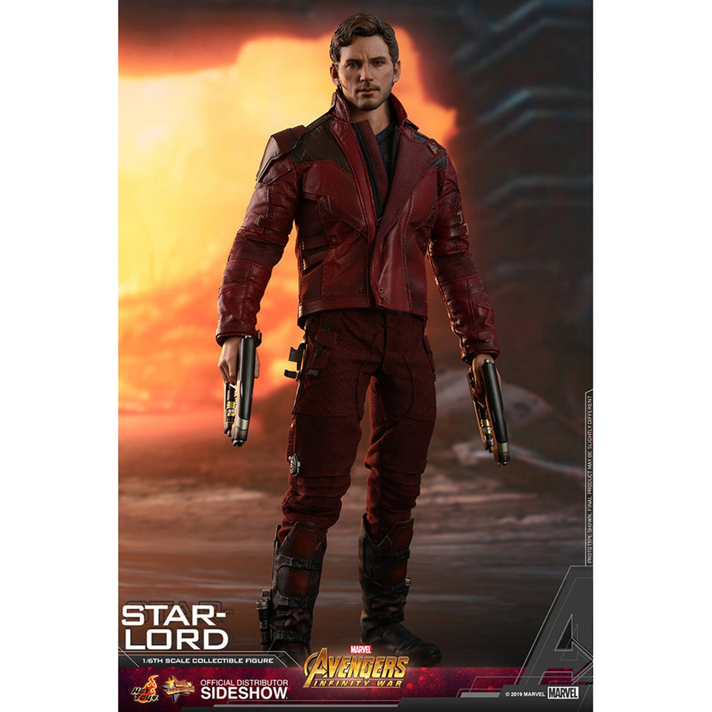 Hot Toys Movie Masters Avengers Infinity War Star-Lord Action Figure