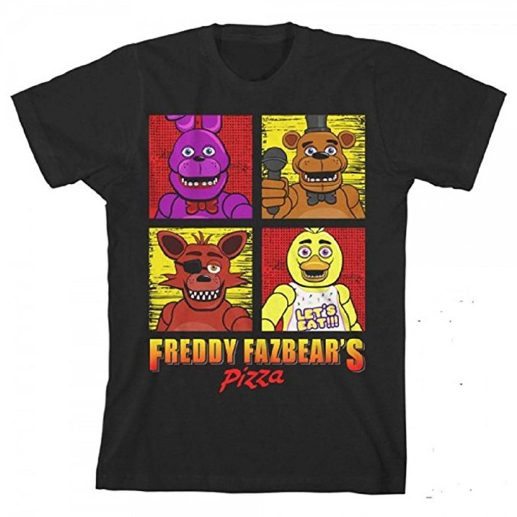 Five Nights At Freddy's Squares Youth Tee Shirt