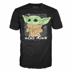 T-Shirts - Funko Star Wars Mandalorian The Child Looking Cyute Tee Shirt Adult