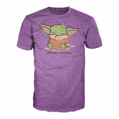 T-Shirts - Funko Star Wars Mandalorian The Child Sleeping Tee Shirt Adult