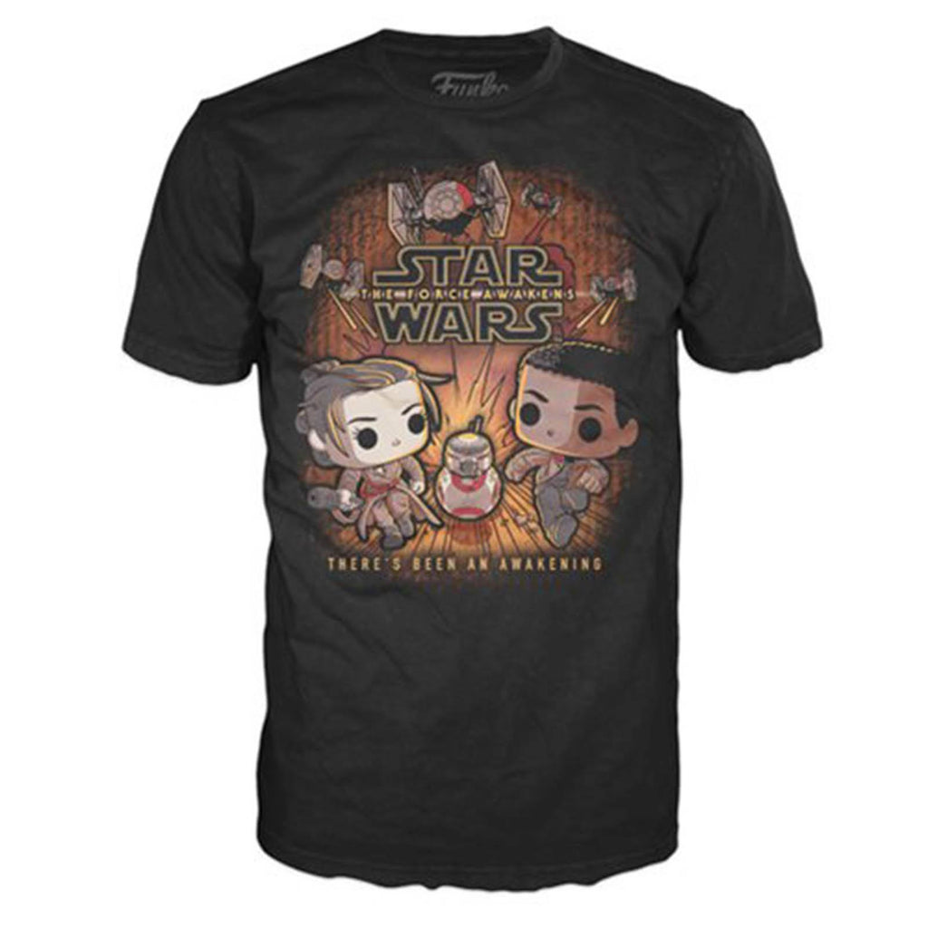 Funko Star Wars Rey And Finn Tee Shirt