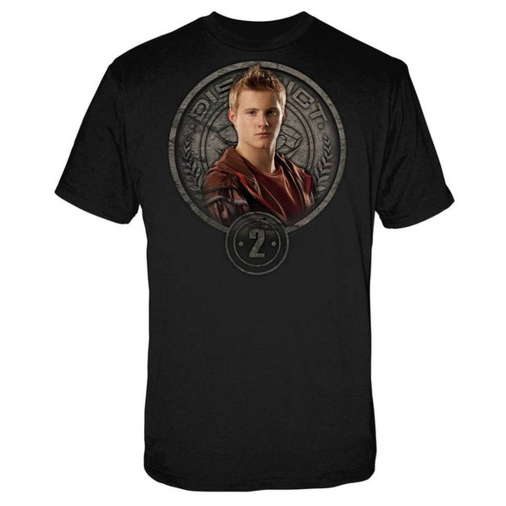 Hunger Games Cato in Stone Seal Men's Tee Shirt