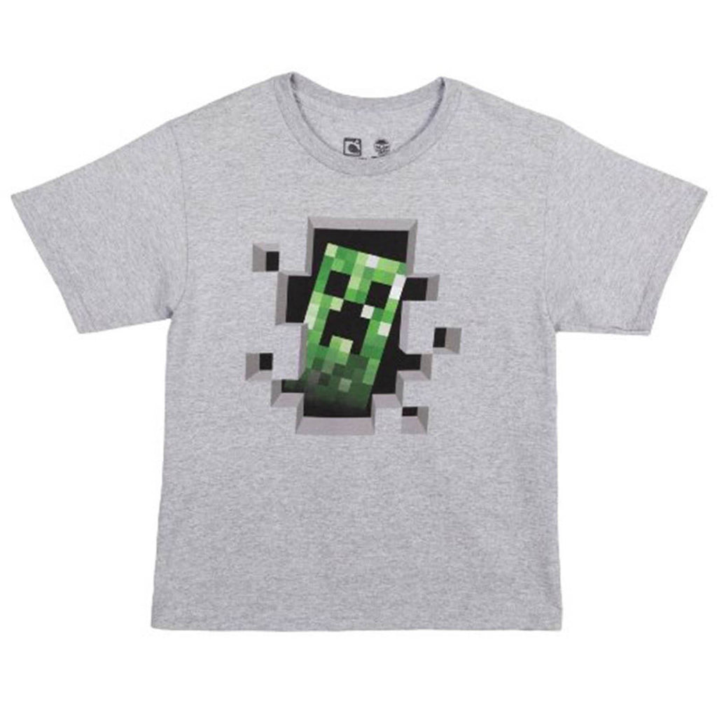 Minecraft Creeper Inside Youth Tee Shirt