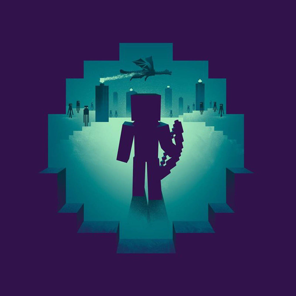 Minecraft Eye Of Ender Youth Tee Shirt