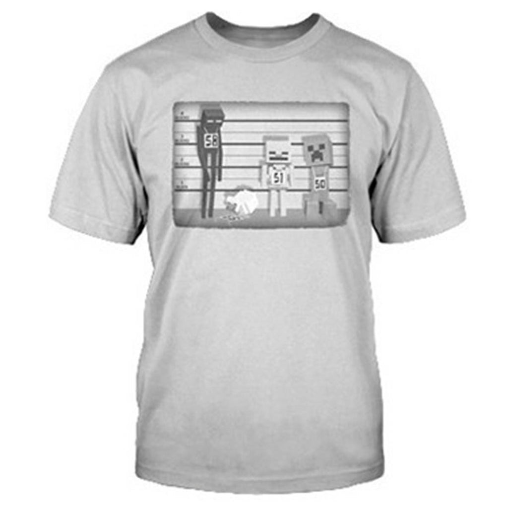 Minecraft Lineup Youth Tee Shirt