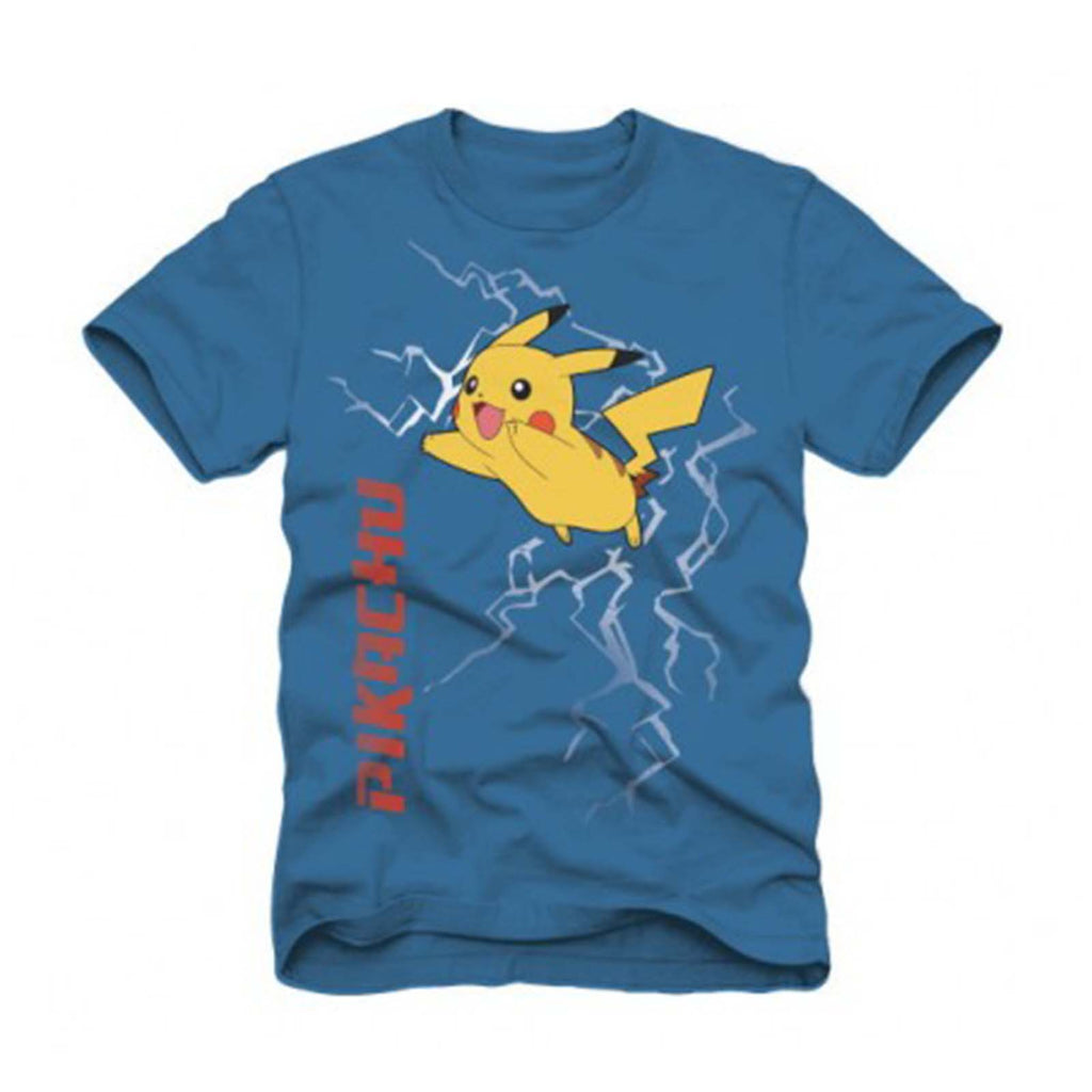 Pokemon Pikachu Light Blue T-Shirt