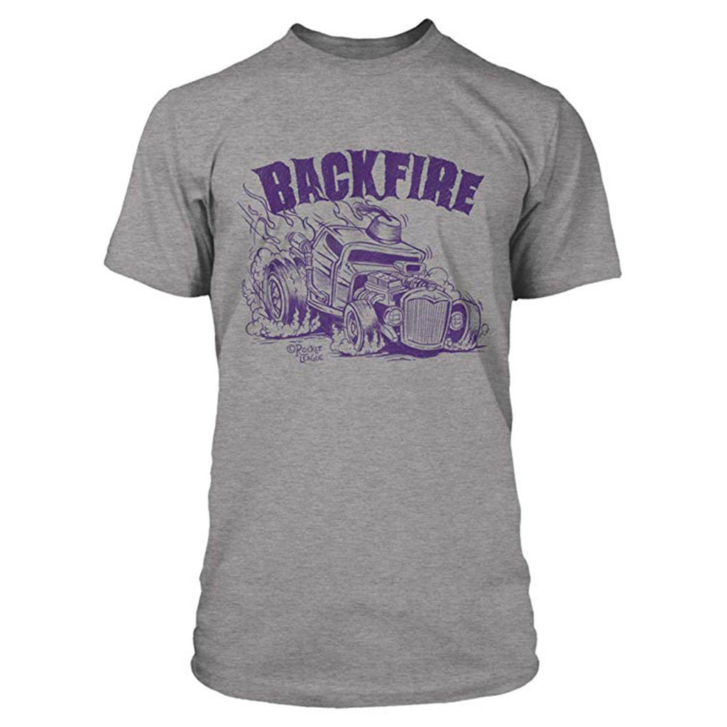 Rocket League Backfire Premium Grey Heather Tee Shirt