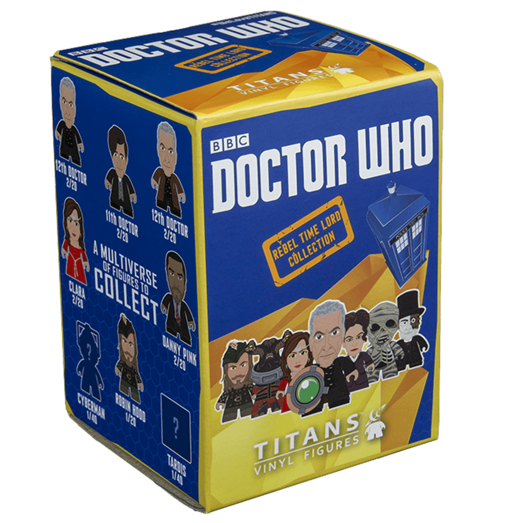 Doctor Who Titans Rebel Time Lord Collection Blind Box Vinyl Figure