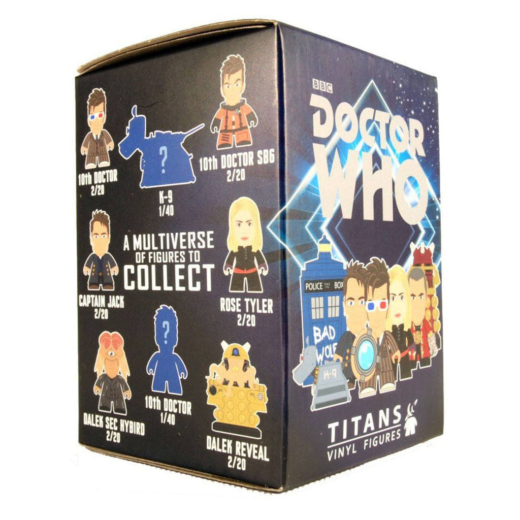 Doctor Who Titans Tenth Doctor Gallifrey Blind Box Vinyl Figure